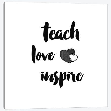 Teacher Inspiration I Canvas Print #WAC9652} by Wild Apple Portfolio Canvas Print