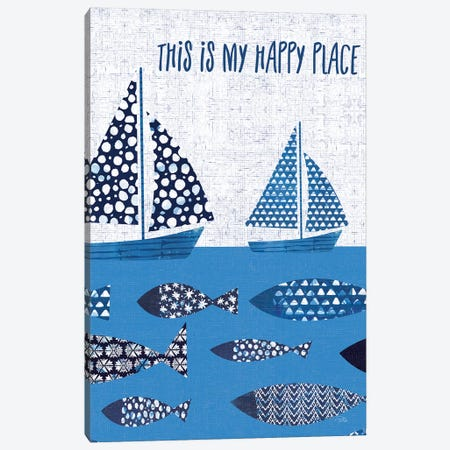 Sunday on the Coast XII Canvas Print #WAC9679} by Pela Canvas Print