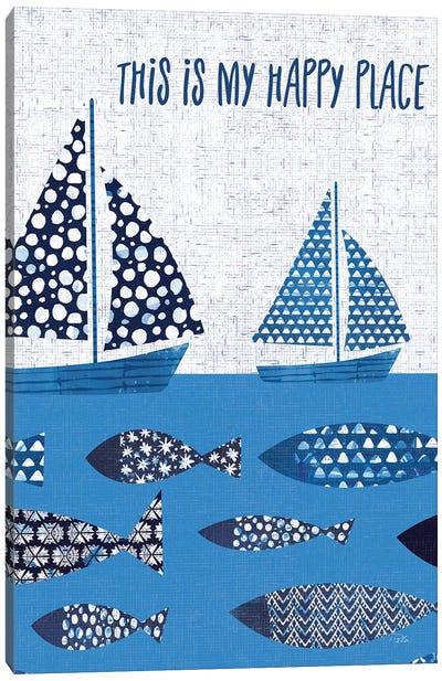 Sunday on the Coast XII Canvas Art Print