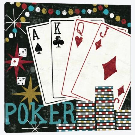 Vegas - Cards Canvas Print #WAC967} by Michael Mullan Canvas Art