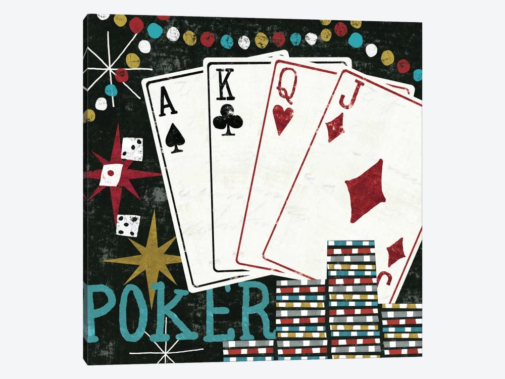 Vegas - Cards by Michael Mullan 1-piece Art Print