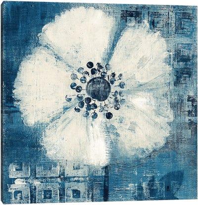 Daisy for Barbara Blue Crop Canvas Art Print
