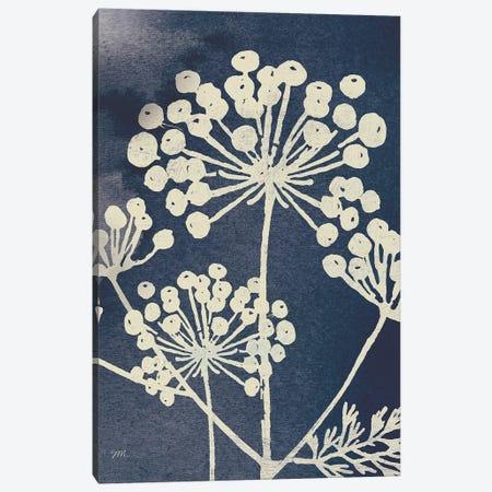 Dark Blue Sky Garden I Canvas Print #WAC9681} by Studio Mousseau Canvas Wall Art