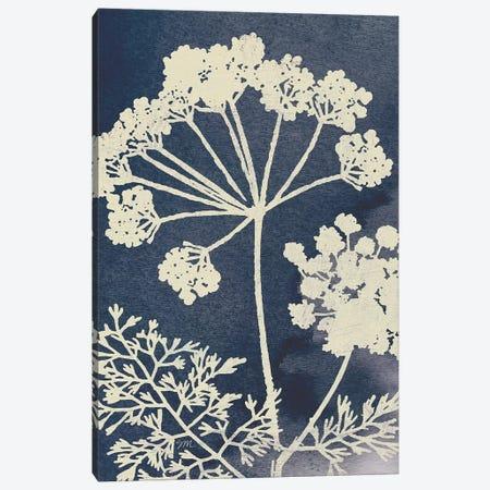 Dark Blue Sky Garden II Canvas Print #WAC9682} by Studio Mousseau Canvas Wall Art