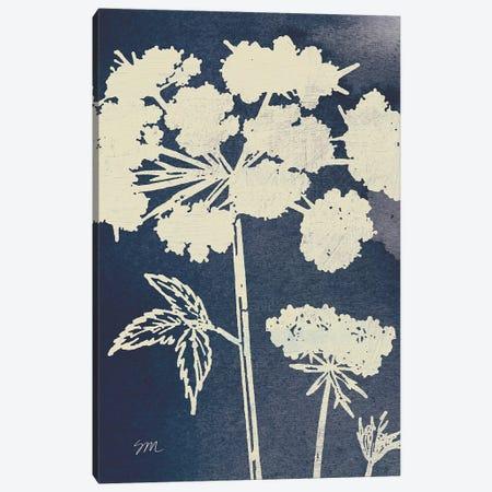 Dark Blue Sky Garden III Canvas Print #WAC9683} by Studio Mousseau Canvas Wall Art