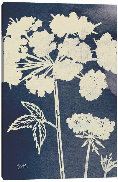 Dark Blue Sky Garden III Canvas Art Print
