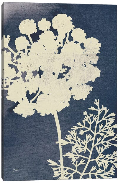 Dark Blue Sky Garden IV Canvas Art Print