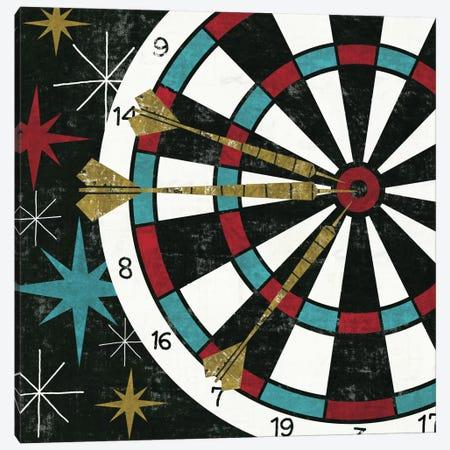 Vegas - Darts Canvas Print #WAC968} by Michael Mullan Art Print