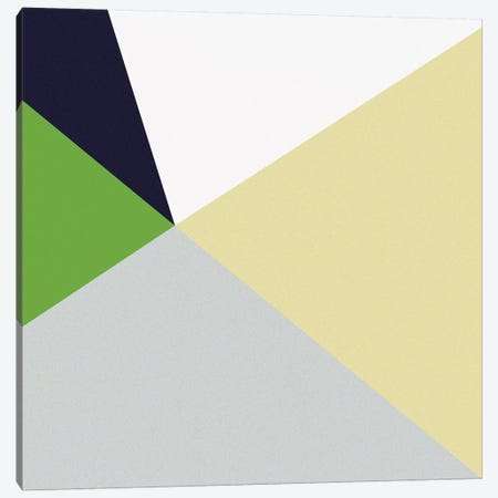 Color Block II Bright Canvas Print #WAC9693} by Wild Apple Portfolio Art Print