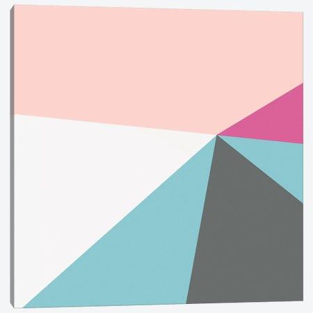 Color Block IV Bright 3-Piece Canvas #WAC9695} by Wild Apple Portfolio Canvas Wall Art