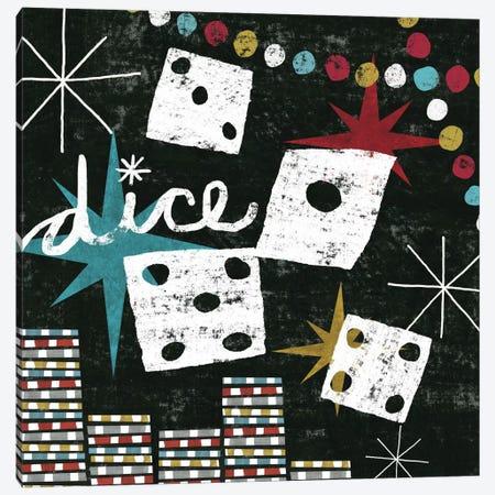 Vegas - Dice Canvas Print #WAC969} by Michael Mullan Canvas Art Print
