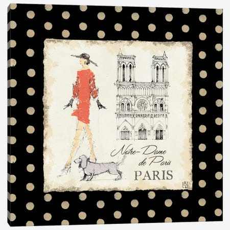 Ladies in Paris IV Canvas Print #WAC96} by Avery Tillmon Canvas Art Print