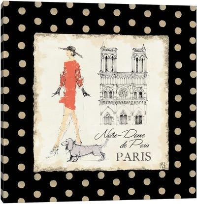 Ladies in Paris IV Canvas Print #WAC96