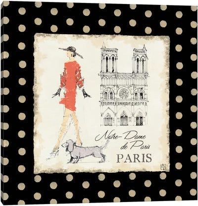 Ladies in Paris IV Canvas Art Print