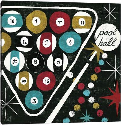 Vegas - Pool Hall Canvas Art Print
