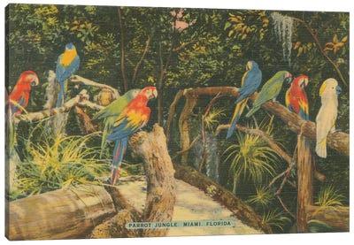Florida Postcard II Canvas Art Print