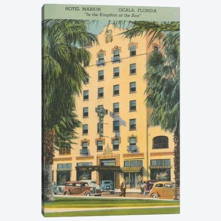 Florida Postcard V Canvas Print #WAC9720} by Wild Apple Portfolio Canvas Print
