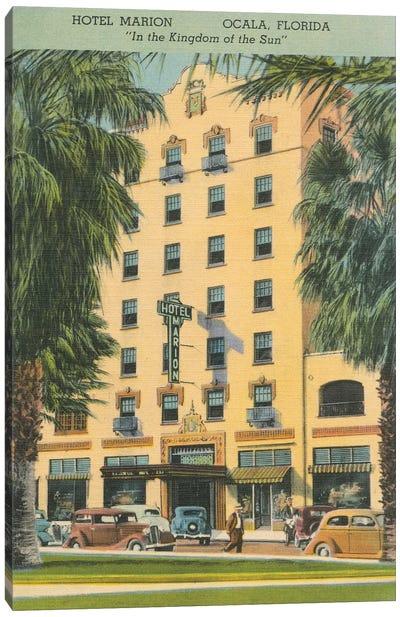 Florida Postcard V Canvas Art Print