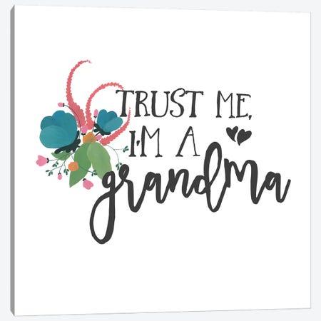 Harriet Floral Grandma Inspiration I Canvas Print #WAC9728} by Wild Apple Portfolio Art Print