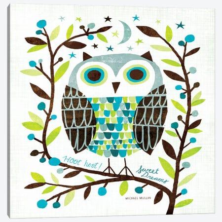 Night Owl I  Canvas Print #WAC974} by Michael Mullan Art Print
