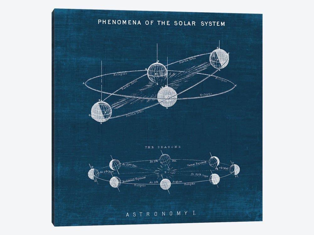Solar System Blueprint I by Wild Apple Portfolio 1-piece Canvas Print