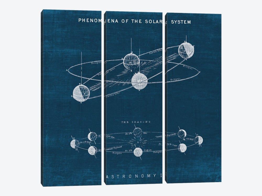 Solar System Blueprint I by Wild Apple Portfolio 3-piece Canvas Art Print