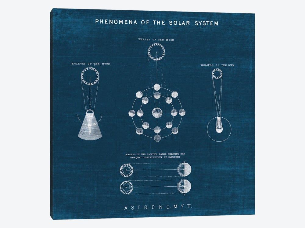 Solar System Blueprint II by Wild Apple Portfolio 1-piece Canvas Artwork