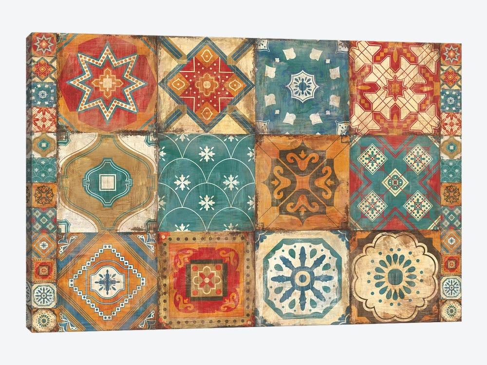 Moroccan Tiles by Cleonique Hilsaca 1-piece Canvas Print