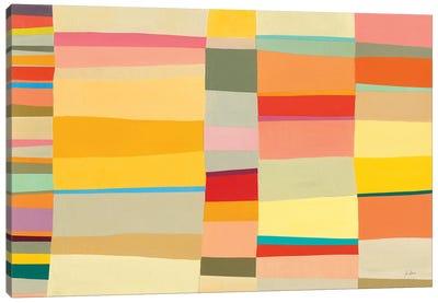 Sunshine Stripes I Canvas Art Print