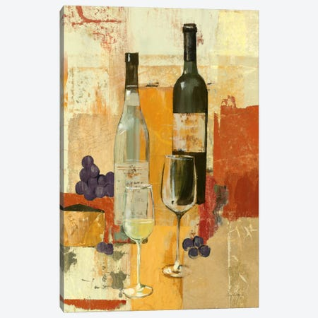 Contemporary Wine Tasting II Canvas Print #WAC97} by Avery Tillmon Canvas Print