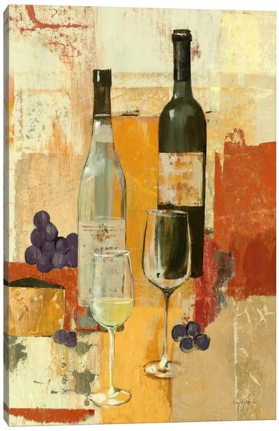 Contemporary Wine Tasting II Canvas Print #WAC97