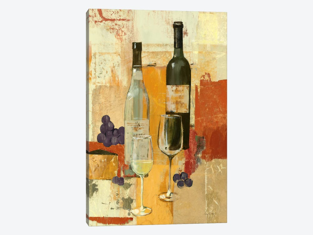 Contemporary Wine Tasting II by Avery Tillmon 1-piece Canvas Artwork