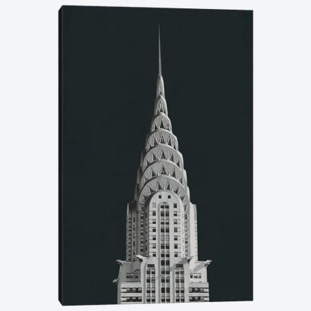 Chrysler Building on Black Canvas Print #WAC9805} by Wild Apple Portfolio Art Print
