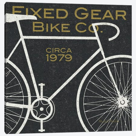 Fixed Gear Bike Co.  Canvas Print #WAC980} by Michael Mullan Canvas Art Print