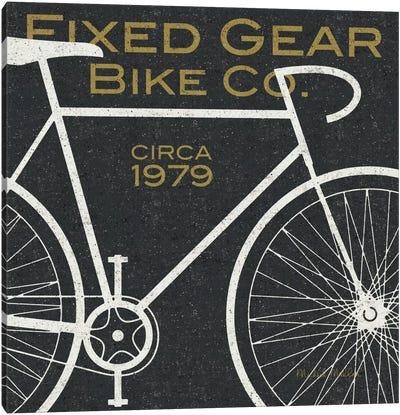Fixed Gear Bike Co.  Canvas Print #WAC980