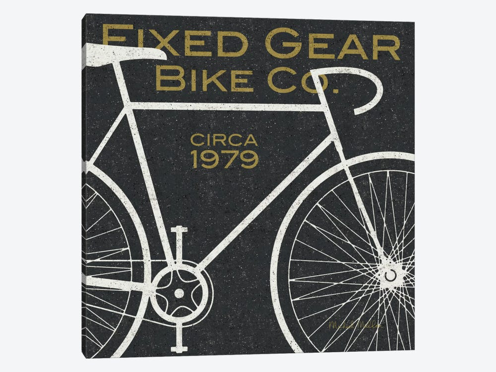 Fixed Gear Bike Co.  by Michael Mullan 1-piece Canvas Artwork