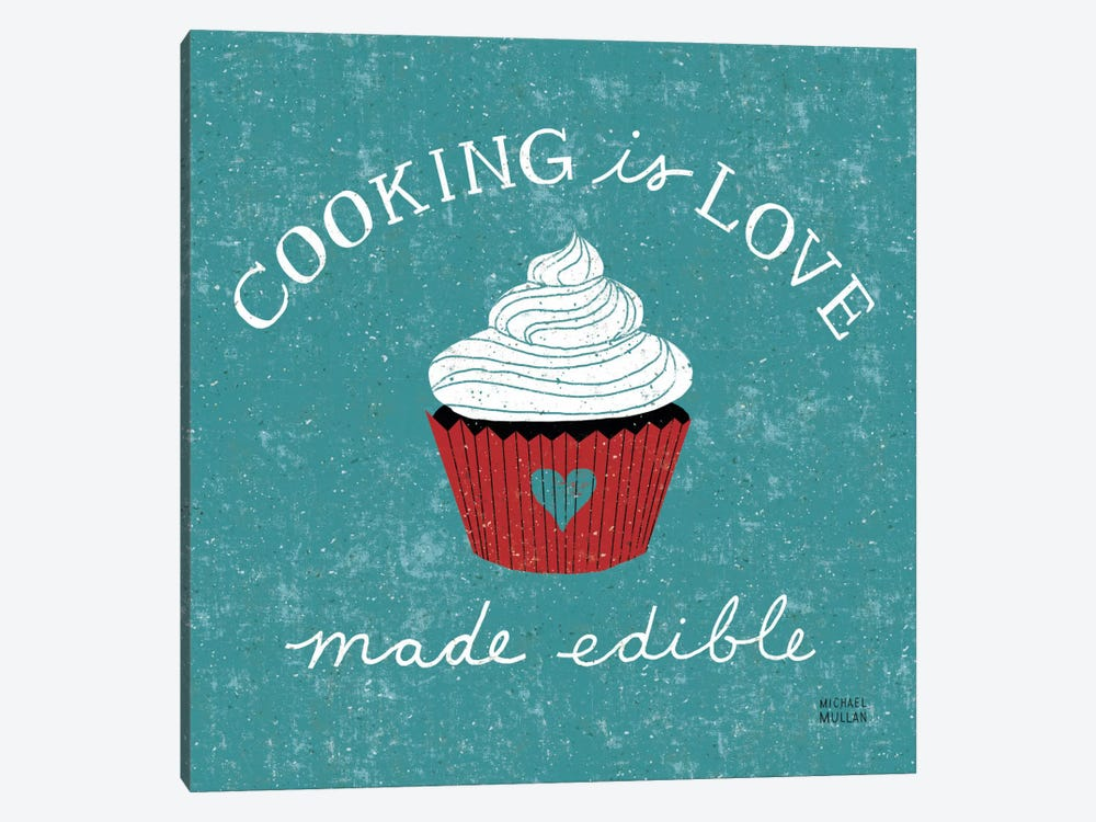 Cooking is Love by Michael Mullan 1-piece Art Print