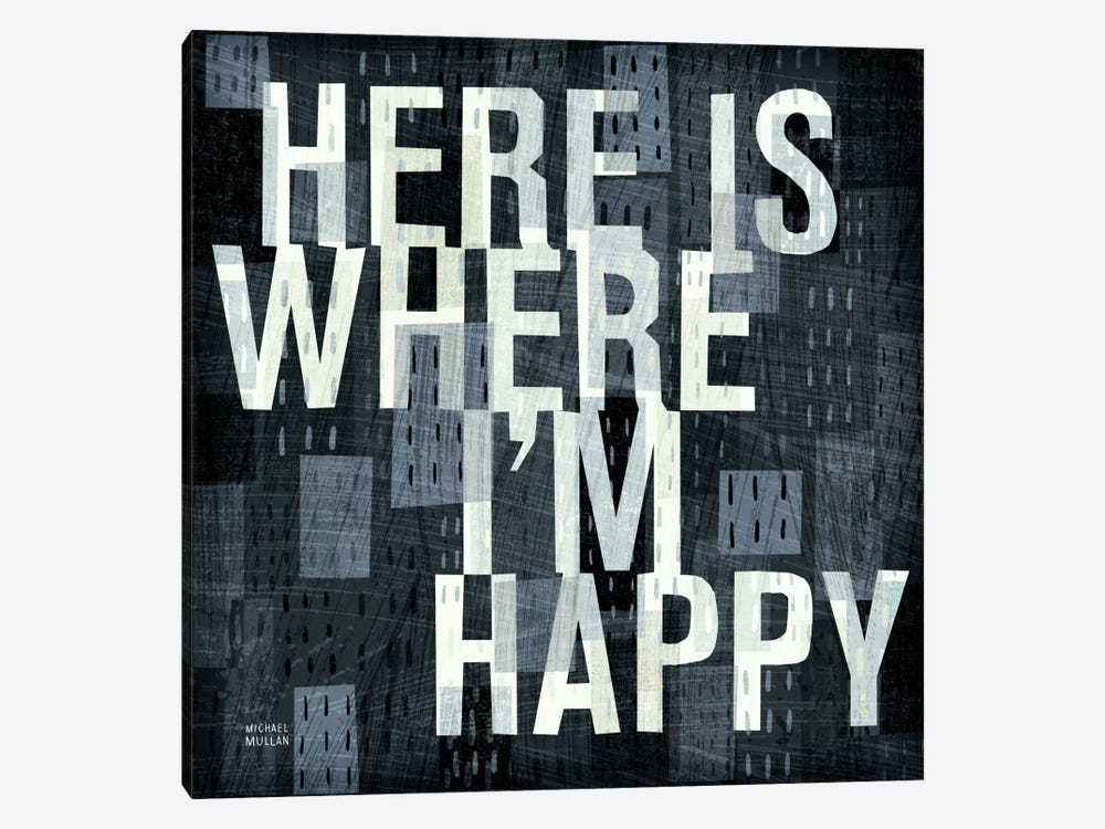 Here is Where  by Michael Mullan 1-piece Canvas Print