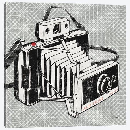 Vintage Analog Camera  Canvas Print #WAC989} by Michael Mullan Canvas Art Print