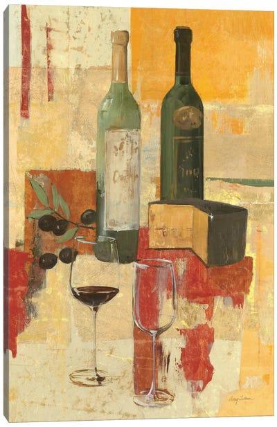 Contemporary Wine Tasting III Canvas Print #WAC98