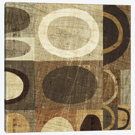 Modern Geometric Neutral II  Canvas Print #WAC996} by Michael Mullan Canvas Print