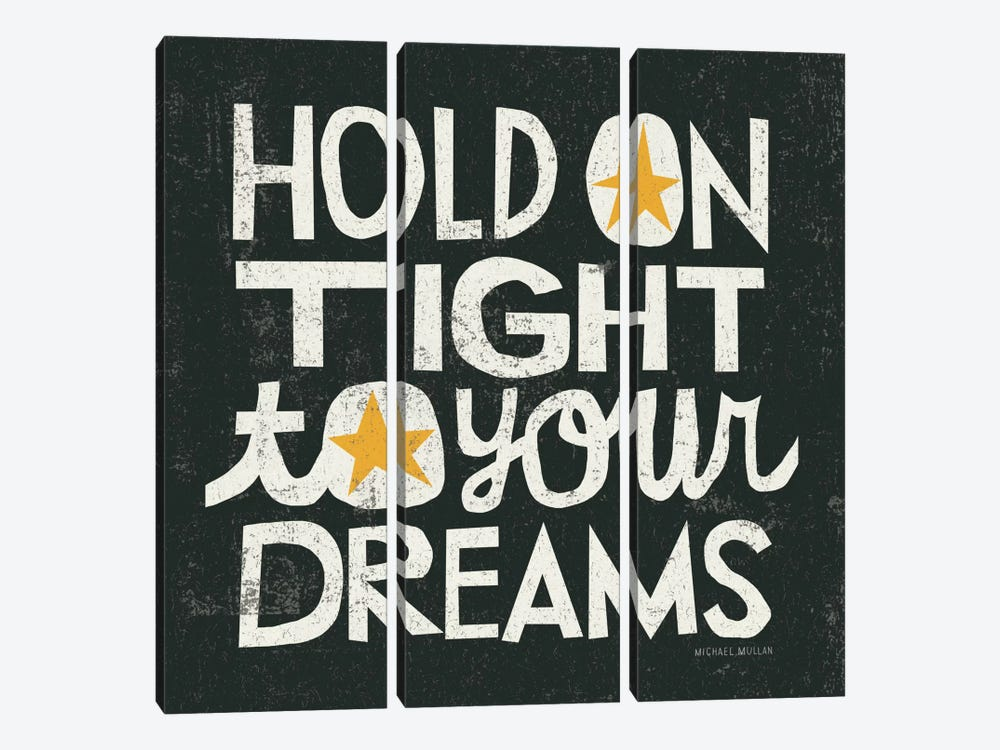 Hold on Tight by Michael Mullan 3-piece Art Print