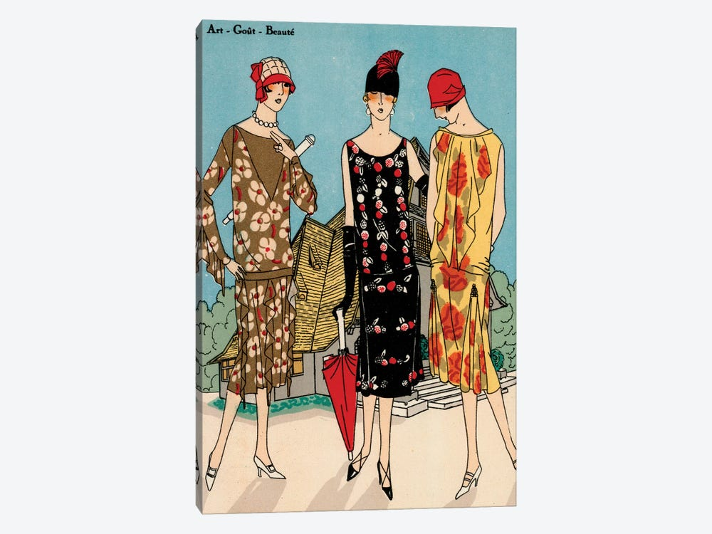 Vintage Couture I by World Art Group Portfolio 1-piece Canvas Artwork