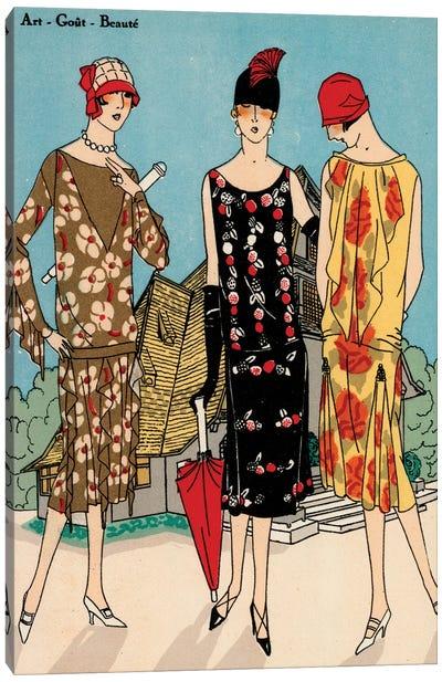 Vintage Couture I Canvas Art Print