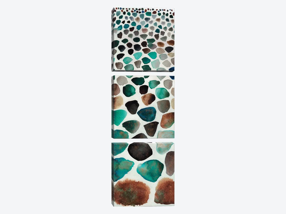 Stone Path I by Alicia Ludwig 3-piece Canvas Art