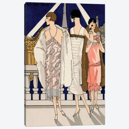 Vintage Couture II Canvas Print #WAG11} by World Art Group Portfolio Canvas Wall Art