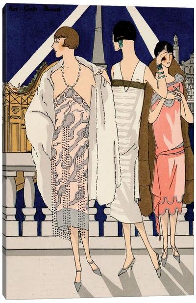 Vintage Couture II Canvas Art Print