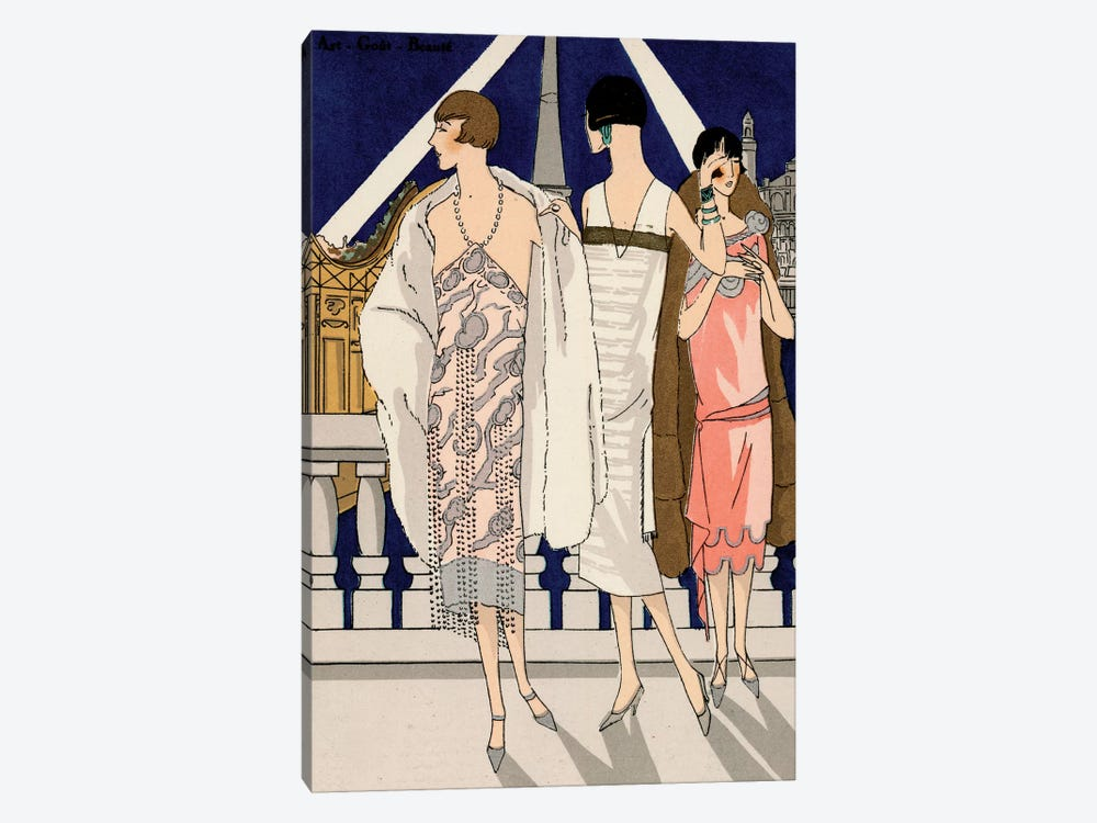 Vintage Couture II by World Art Group Portfolio 1-piece Canvas Print
