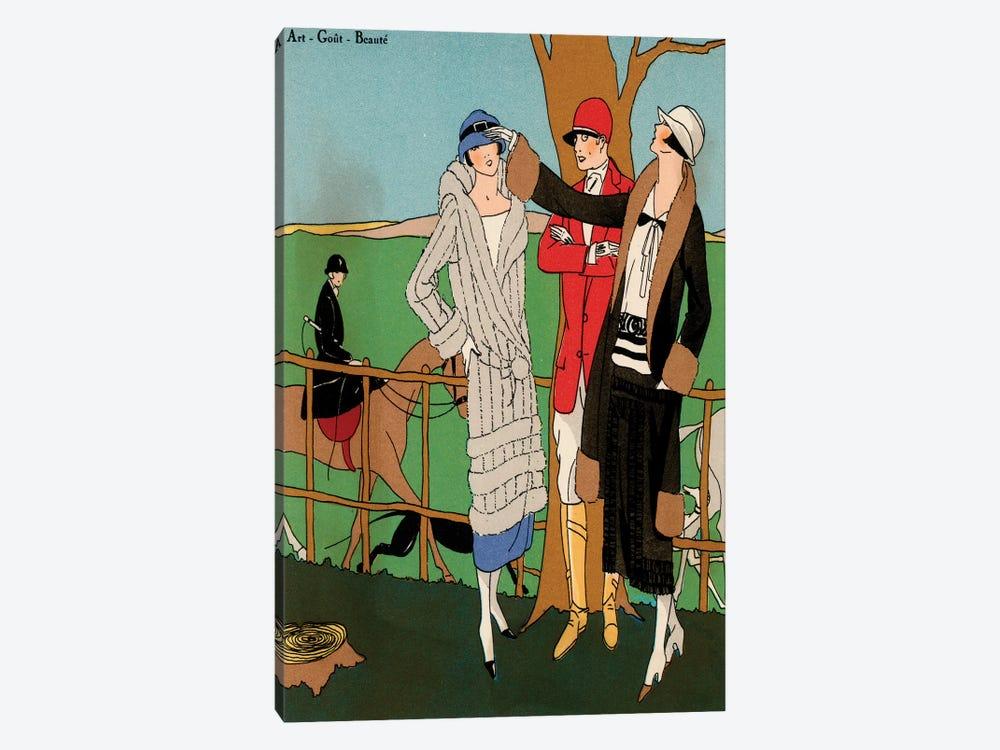 Vintage Couture III by World Art Group Portfolio 1-piece Canvas Artwork