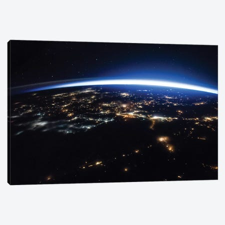 Space Photography XII Canvas Print #WAG133} by World Art Group Portfolio Canvas Art Print